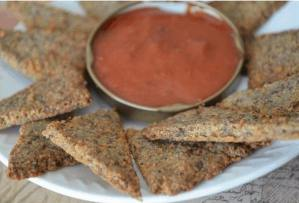 keto pizza crackers