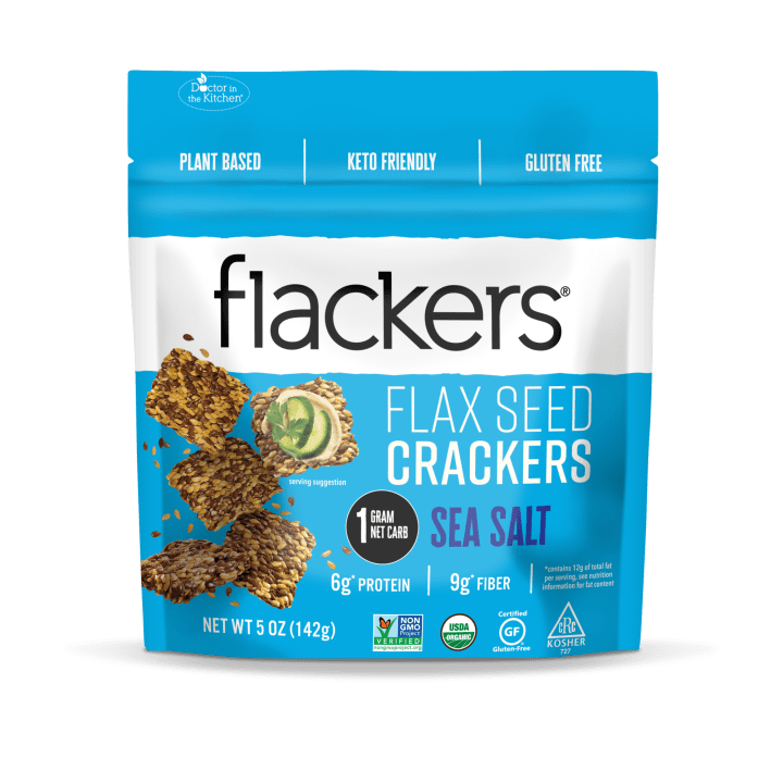 Flackers Seed Crackers   Keto Crackers Review