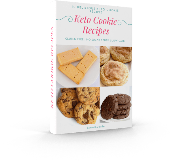 keto cookie recipe book