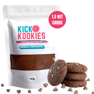 double chocolate kick kookies keto cookie mix