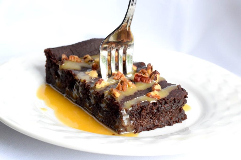 keto caramel brownies recipe