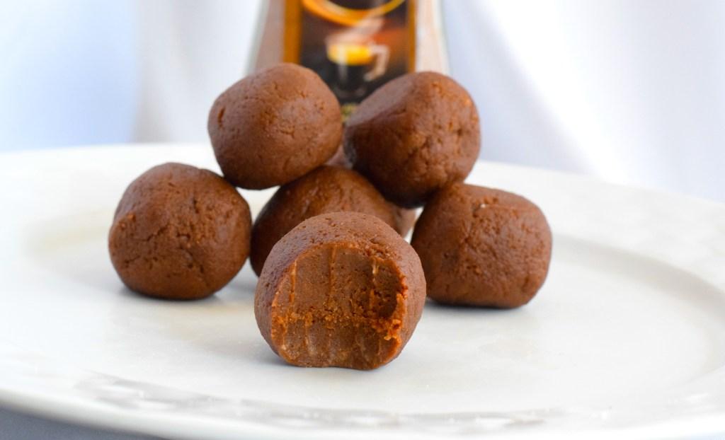 keto espresso cheesecake balls