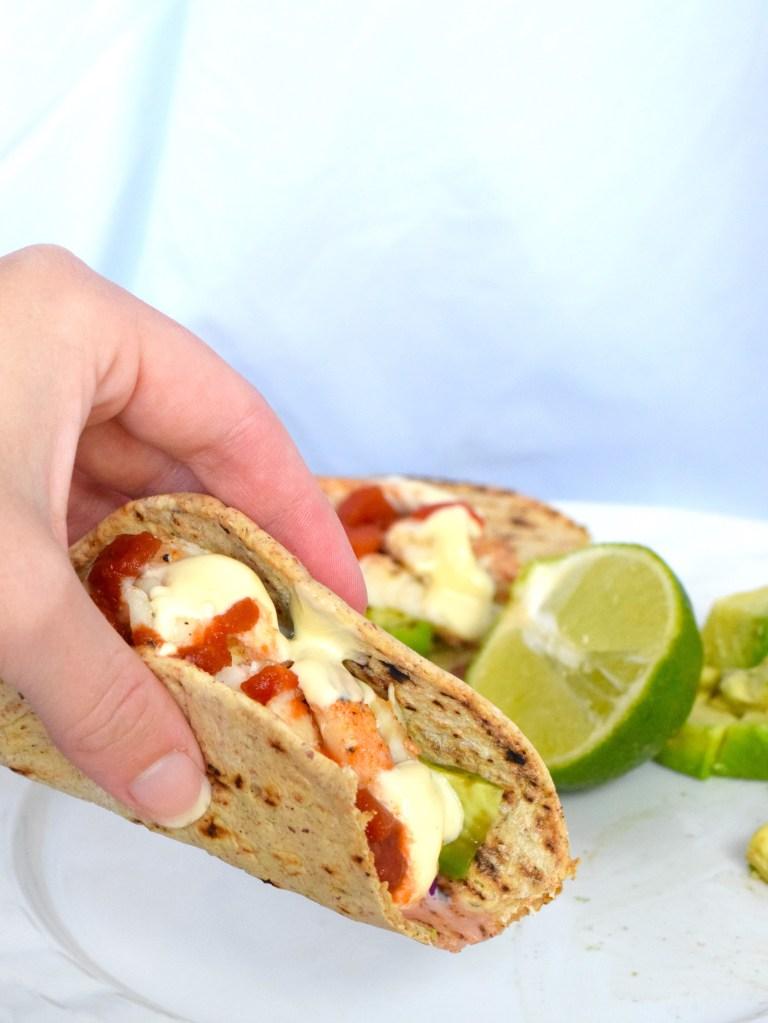 low carb fish tacos