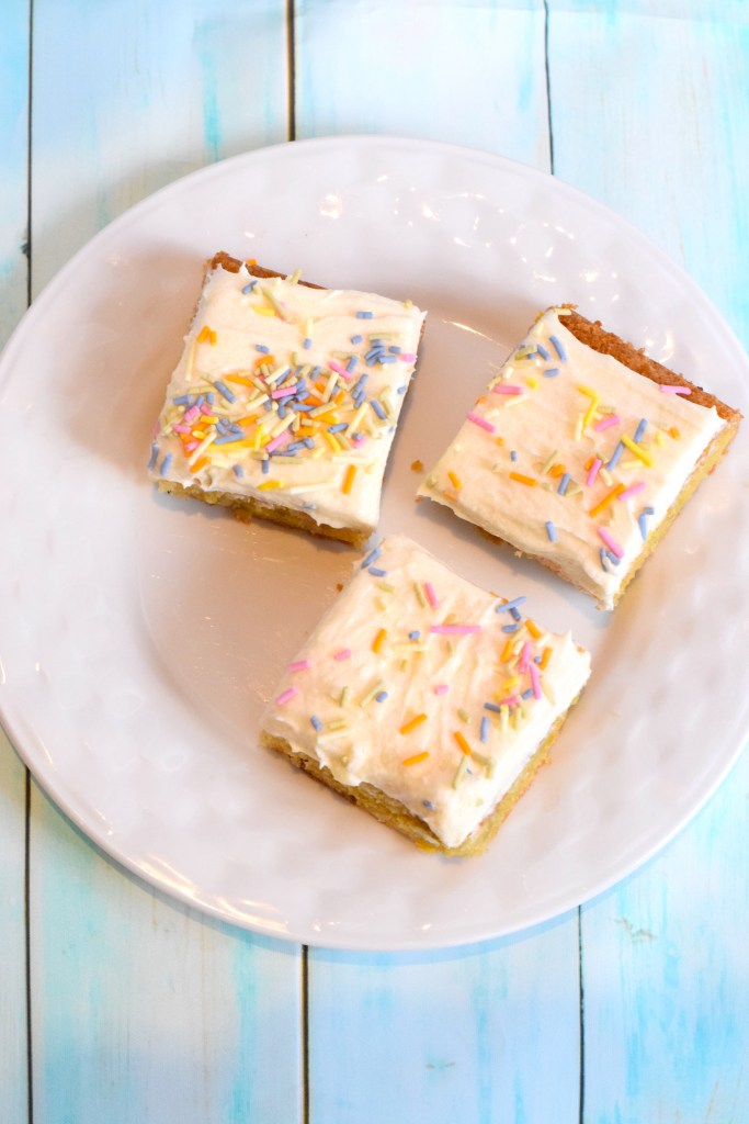 keto birthday cake bars recipe