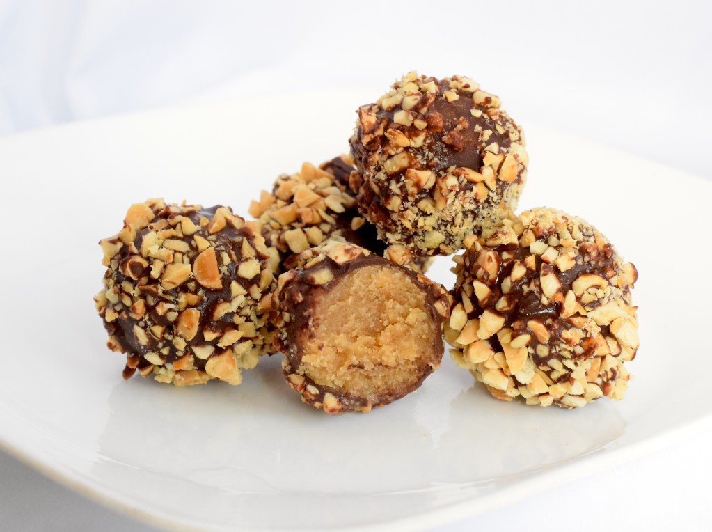 keto chocolate peanut butter balls recipe