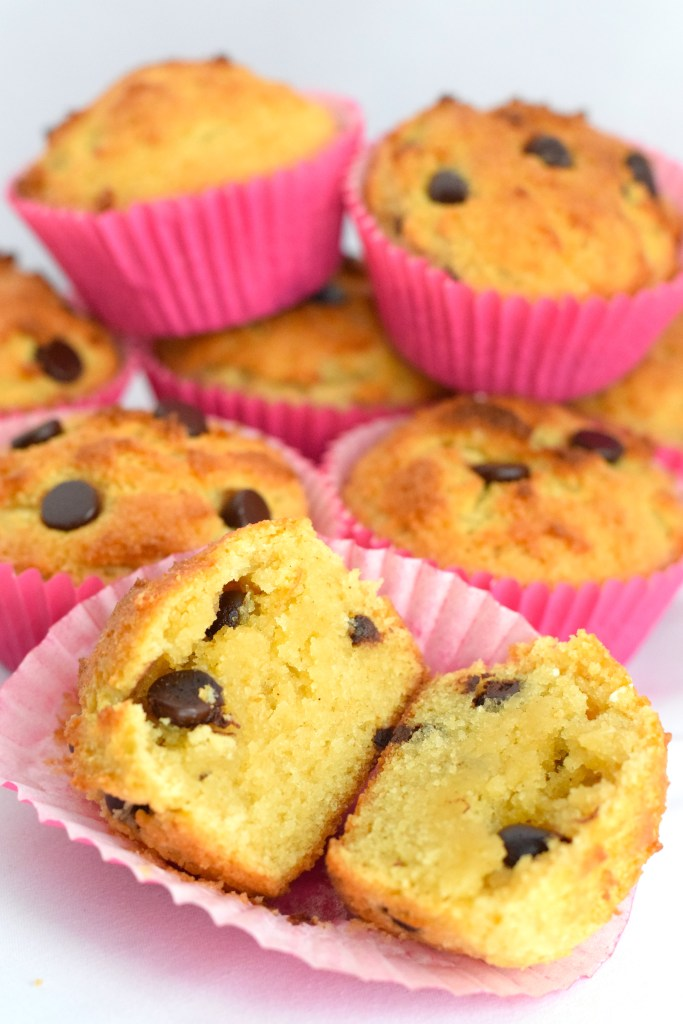 almond flour keto chocolate chip muffins recipe