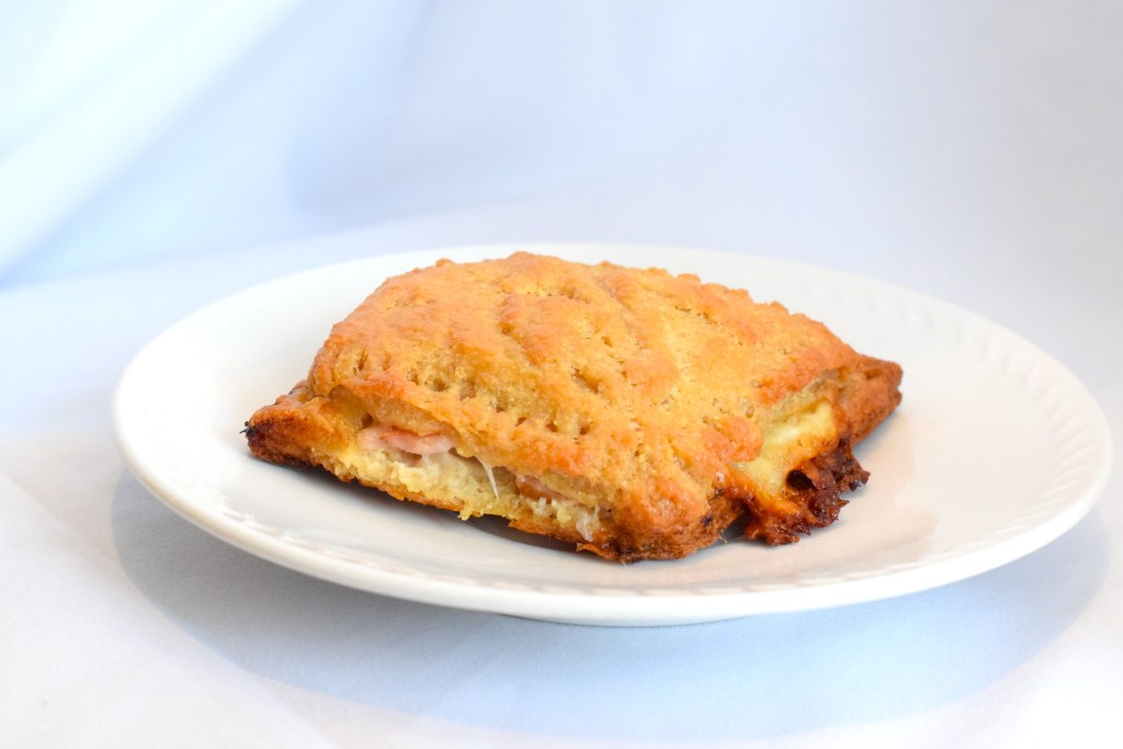 Keto Ham and cheese puff pastry