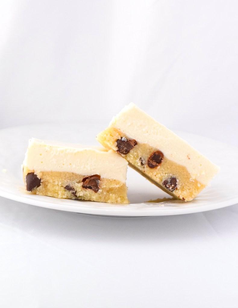 keto no bake cookie dough cheesecake