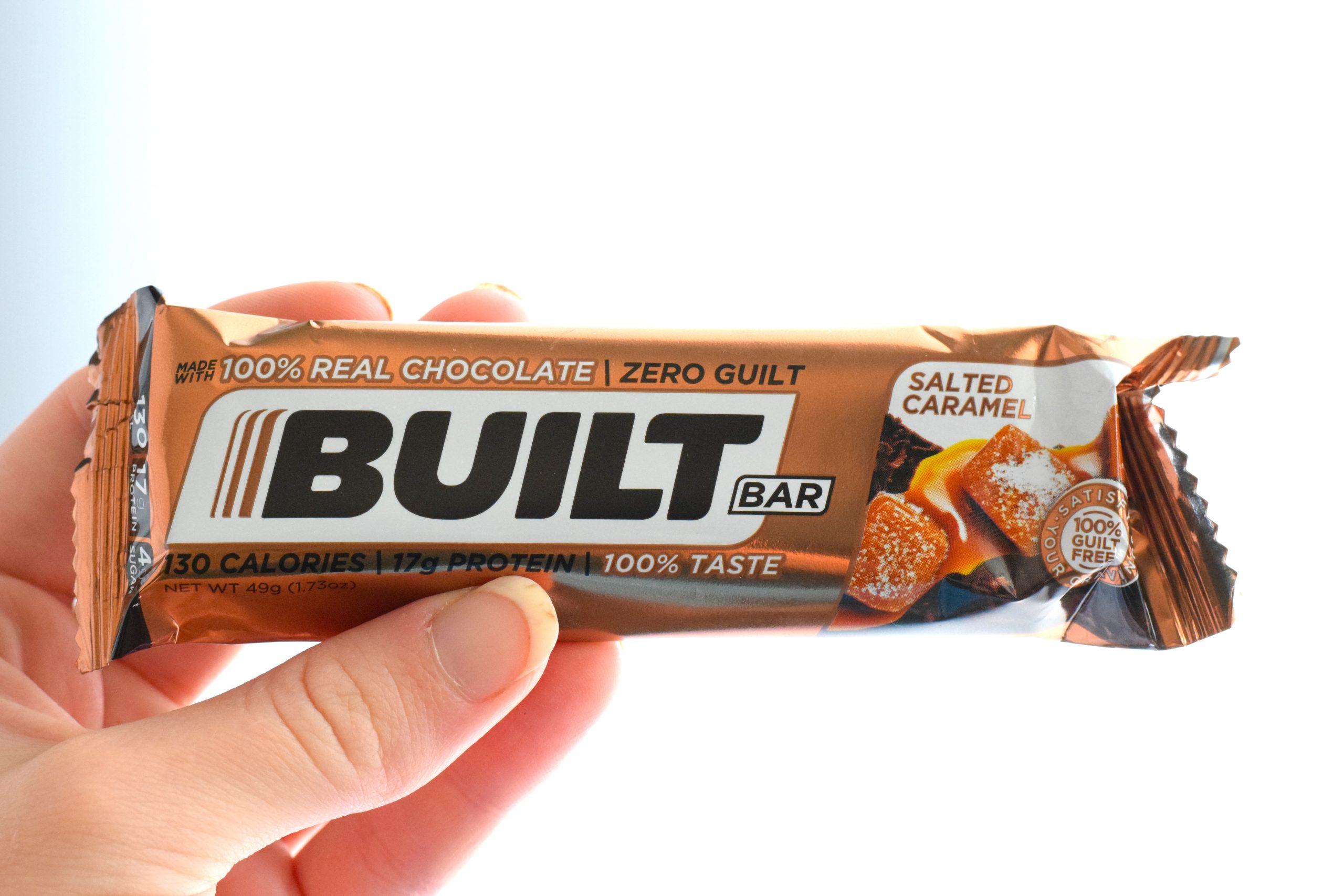 salted caramel built bar review