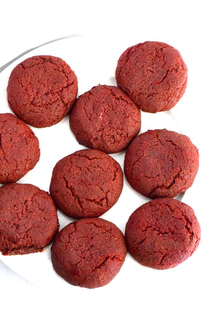 gluten free red velvet cookies recipe