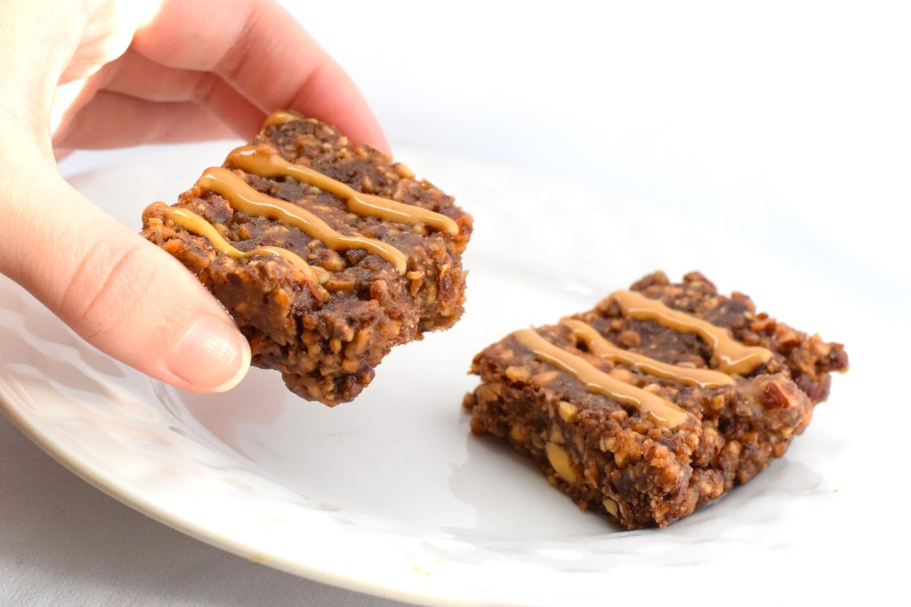 keto chocolate peanut butter granola bars