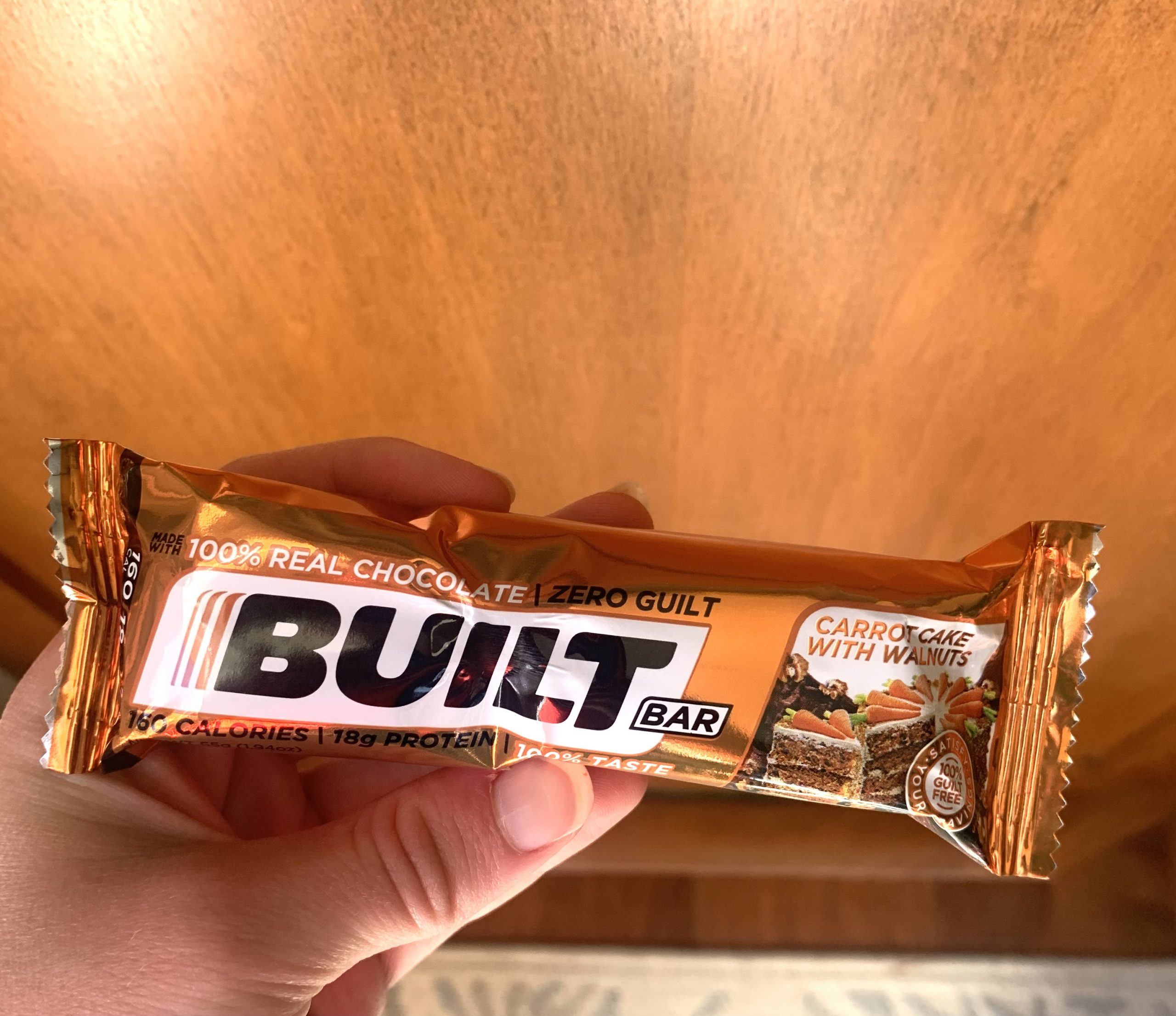 carrot with walnuts built bar review