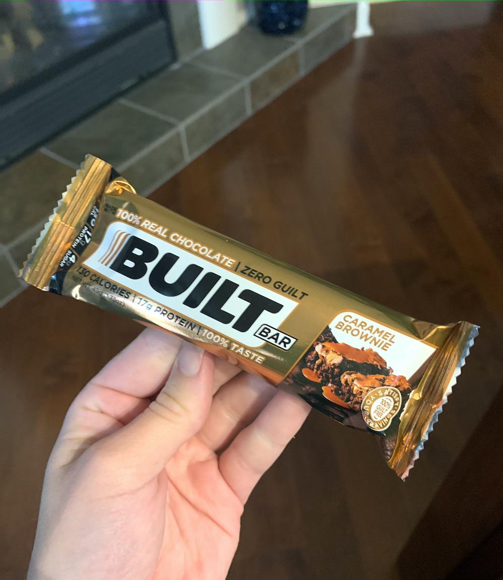 caramel brownie built bar review