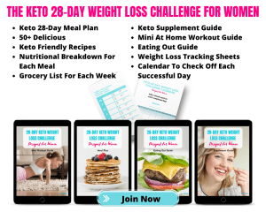 the keto 28 day weight loss challenge for women