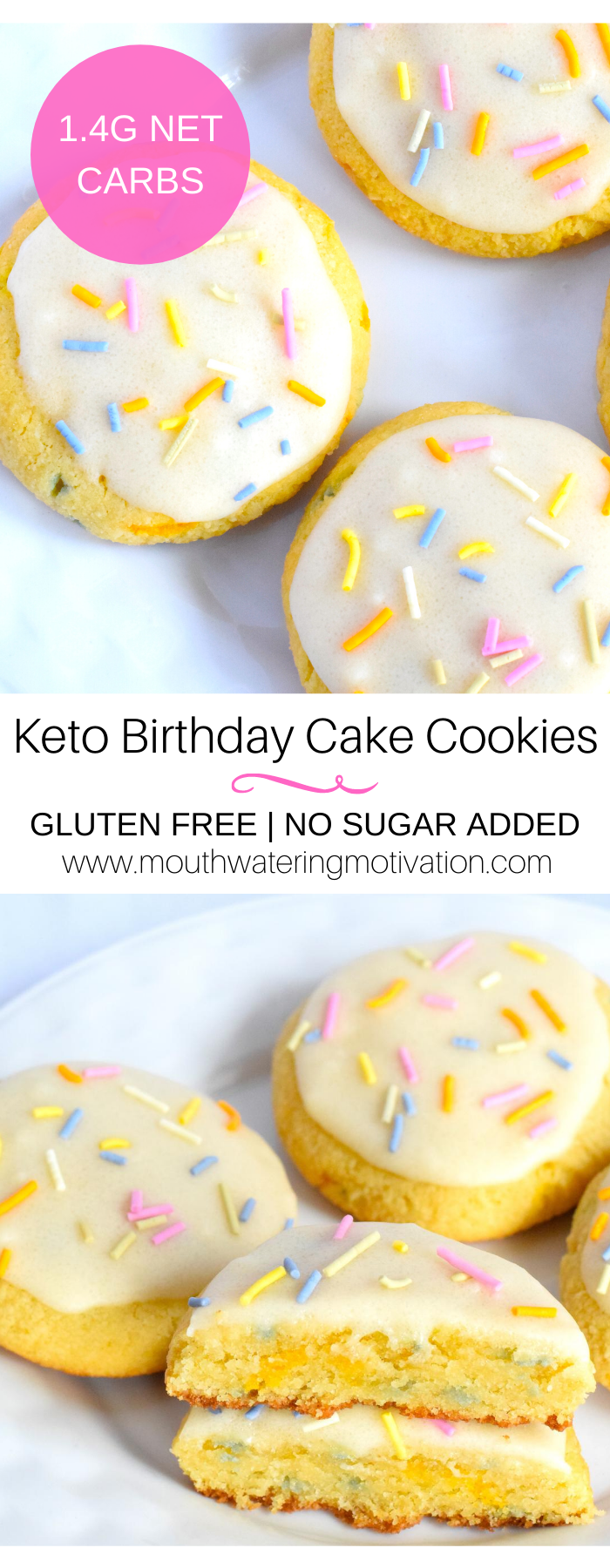 Keto Birthday Cake Cookies-2