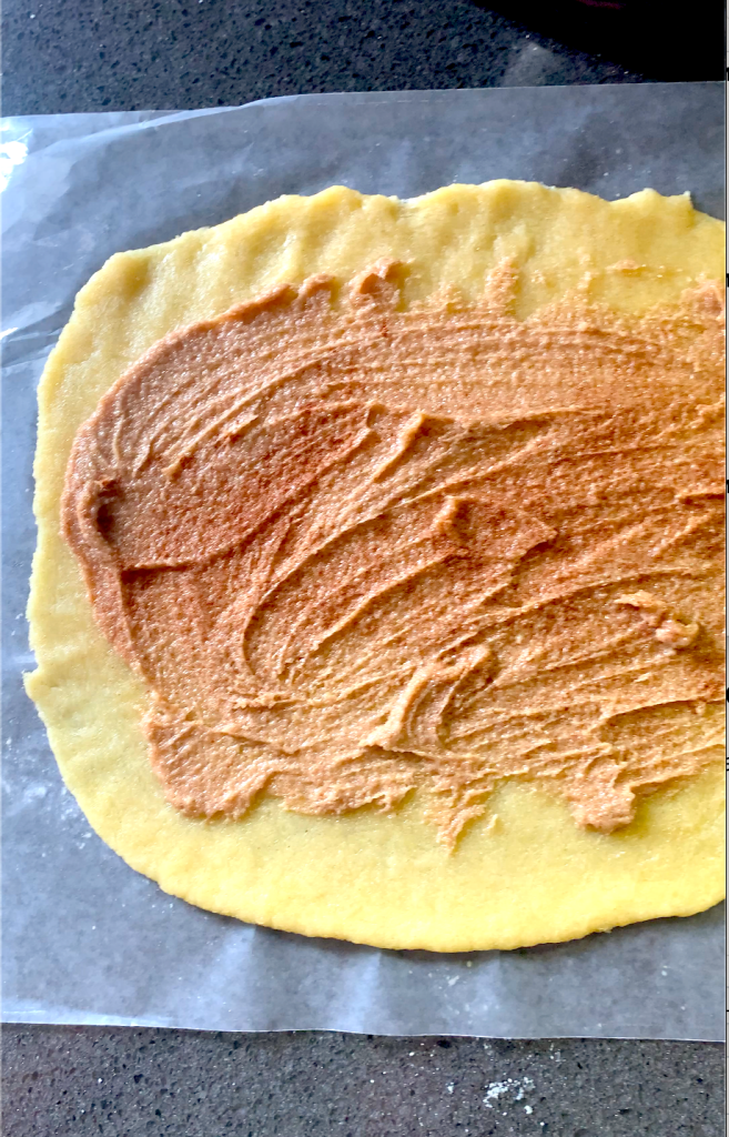 cinnamon Sukrin brown sugar butter