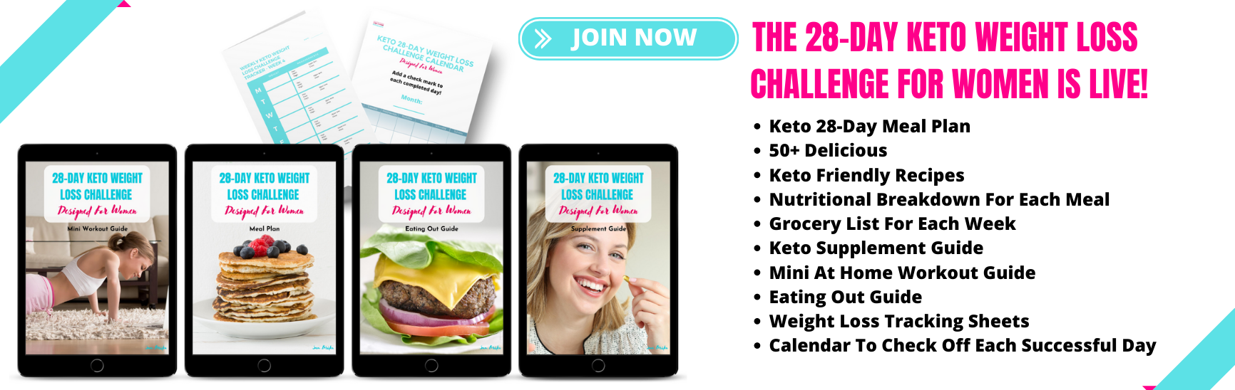 THE 28 DAY KETO WEIGHT LOSS CHALLENGE FOR WOMEN IS LIVE!