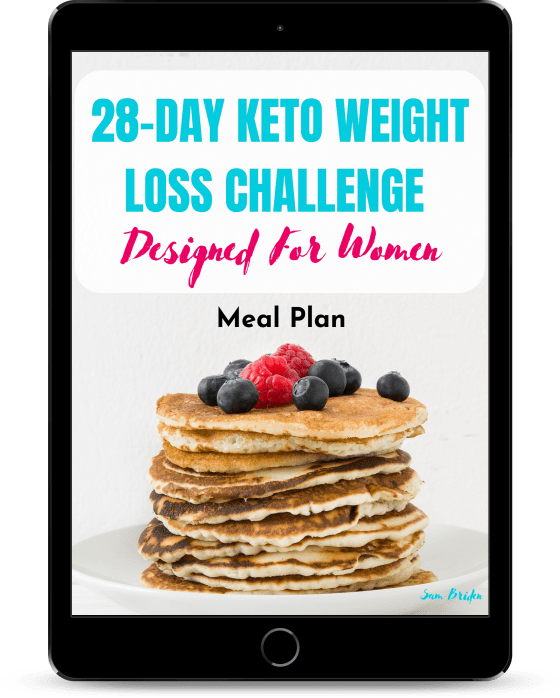 keto 28 day weight loss challenge for women