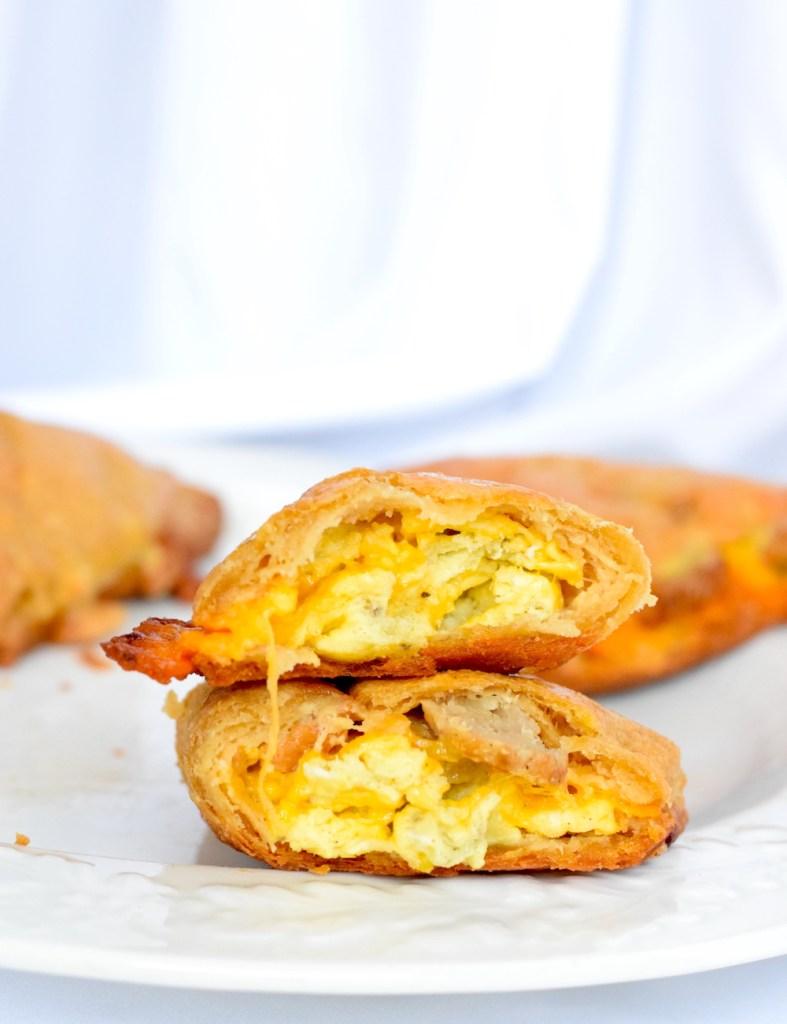 keto sausage and egg burrito breakfast