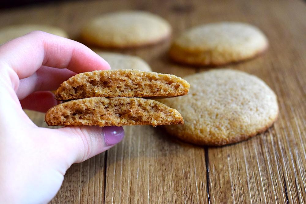 keto low carb ginger cookies recipe