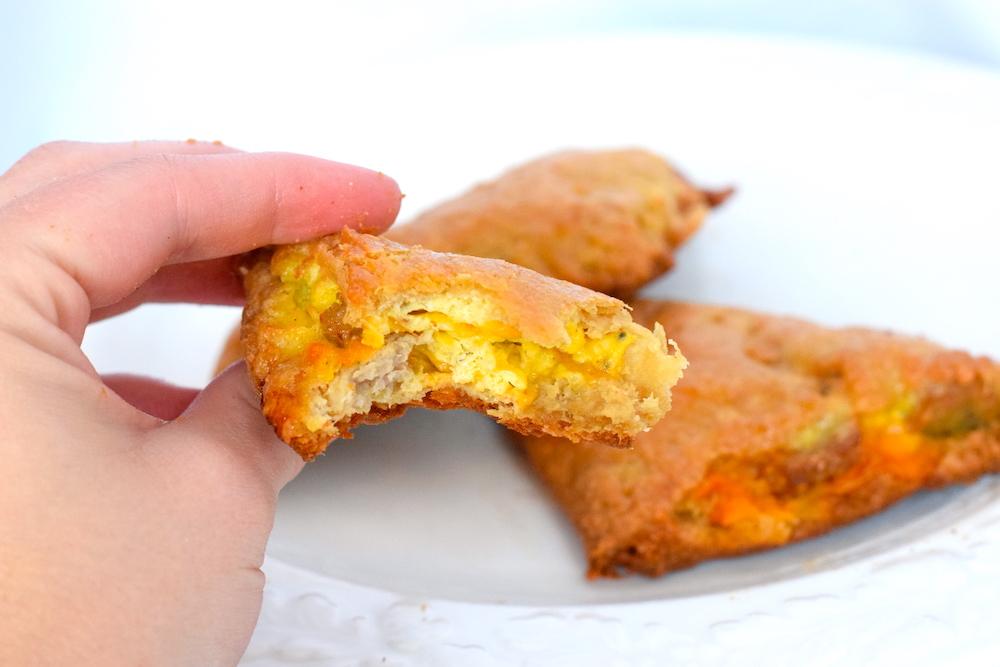 keto sausage egg pastry recipe