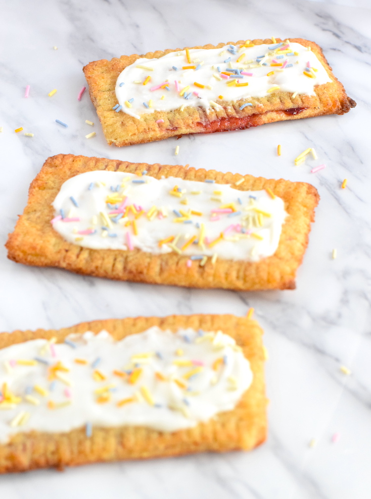 keto strawberry pop tarts pastry