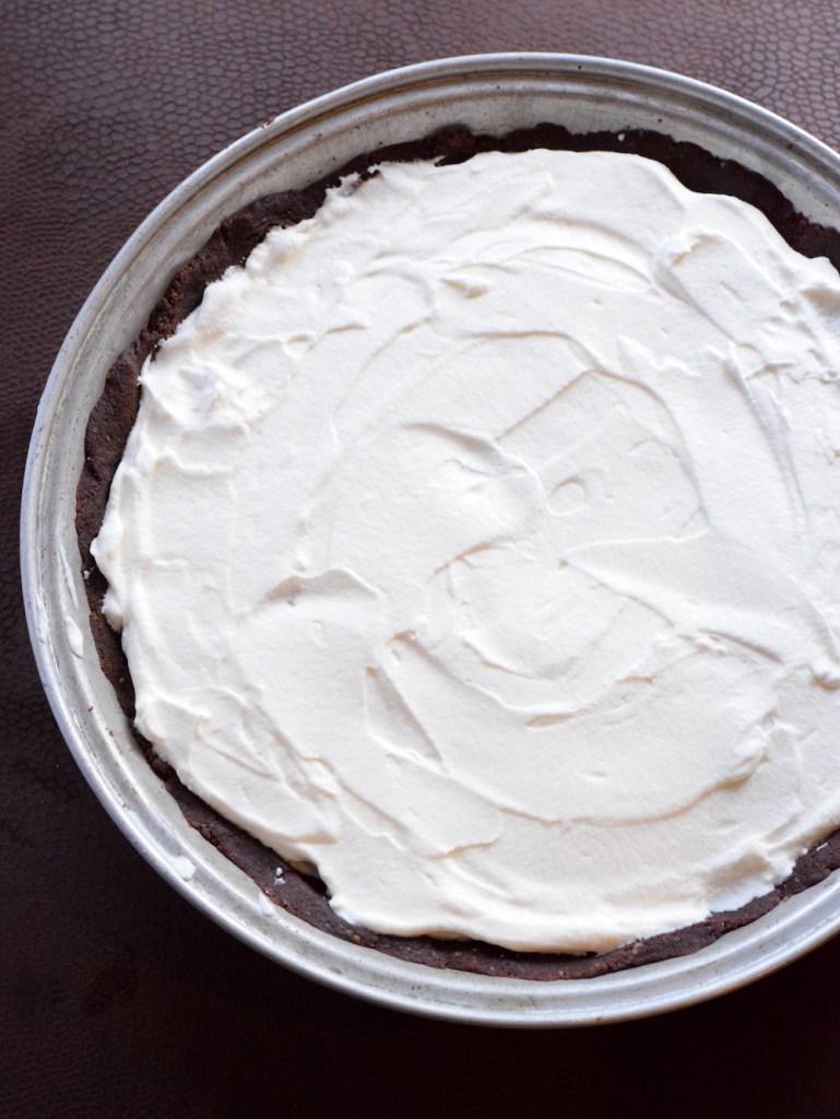 keto whipped cream chocolate pudding pie