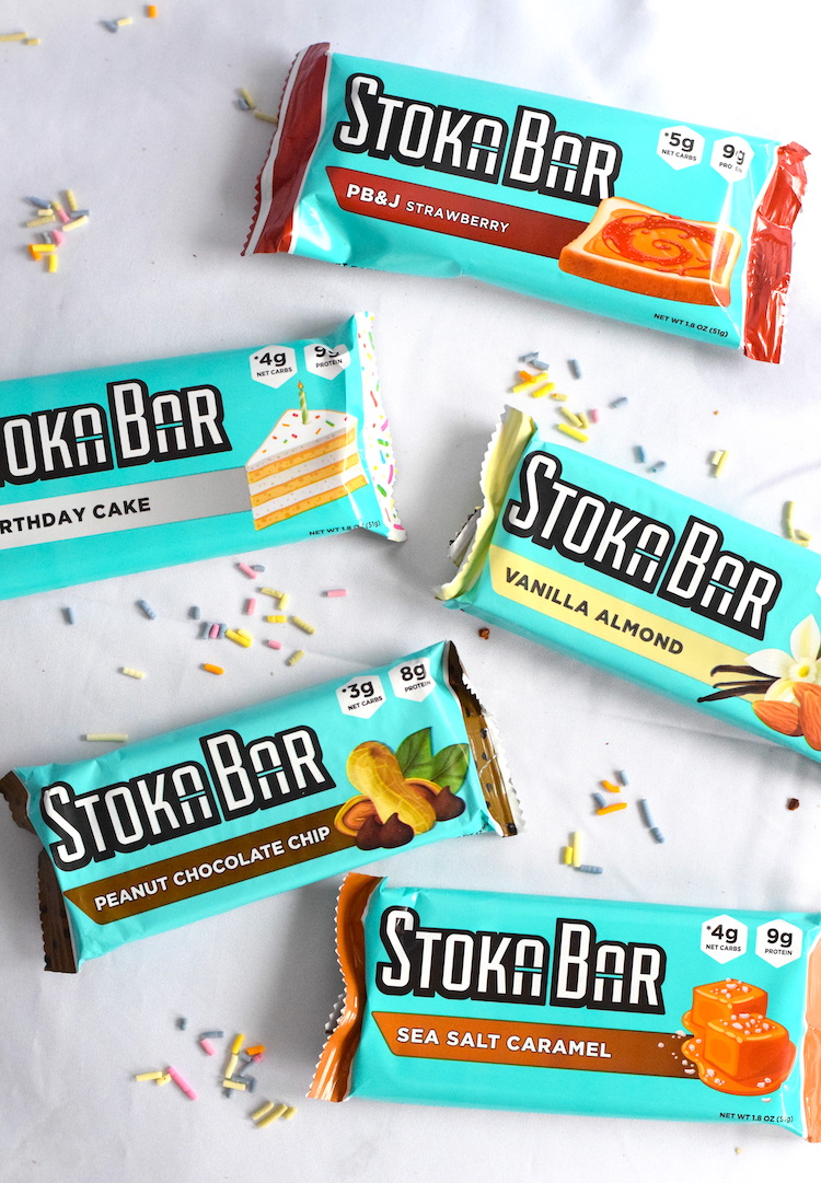 Stoka Nutrition Product Review | Stoka Bars | Sugar Free Sprinkles