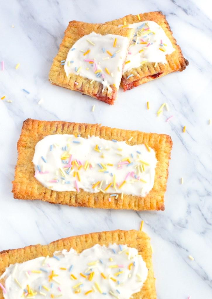 keto strawberry pop tarts recipe