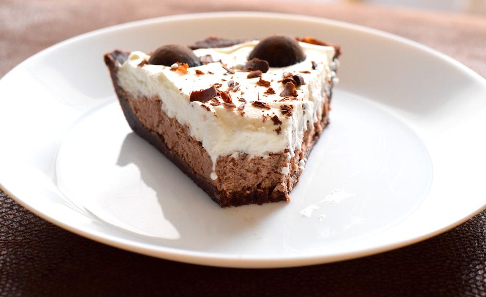 keto chocolate hazelnut mousse cake