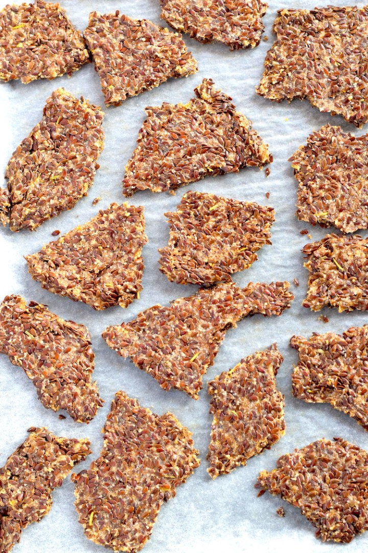 Easy Keto Seed Crackers