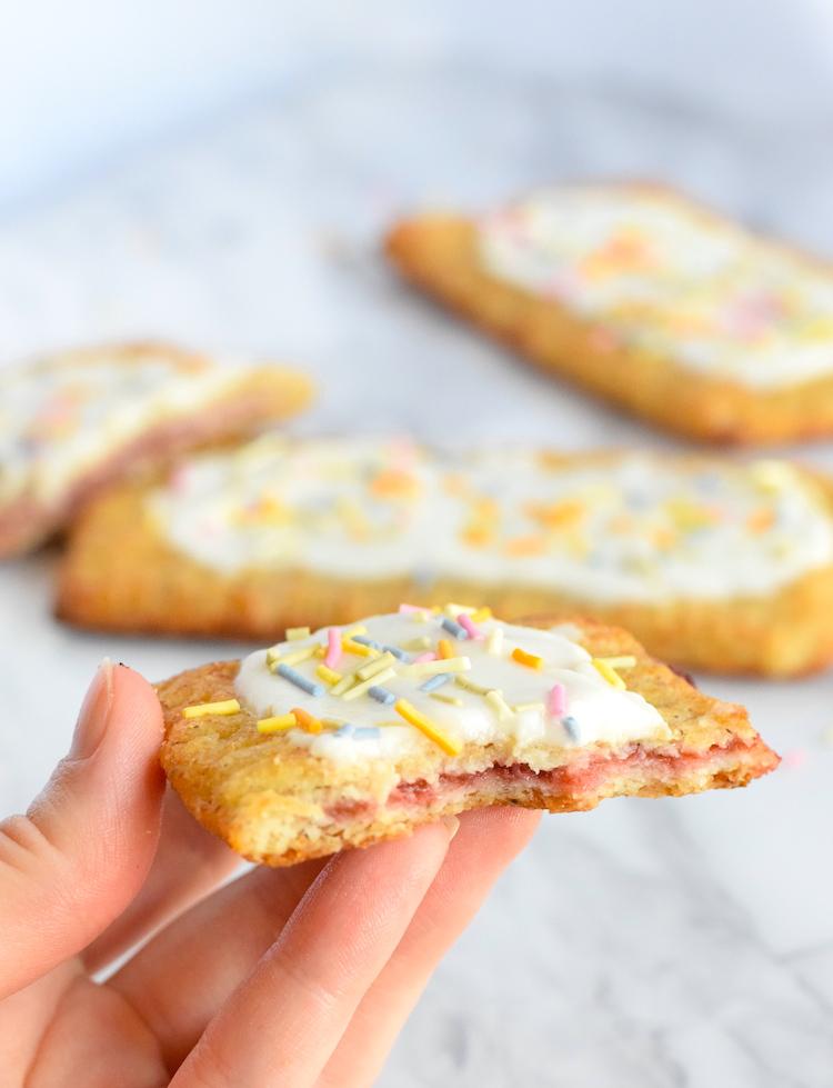 low carb sugar free pop tarts