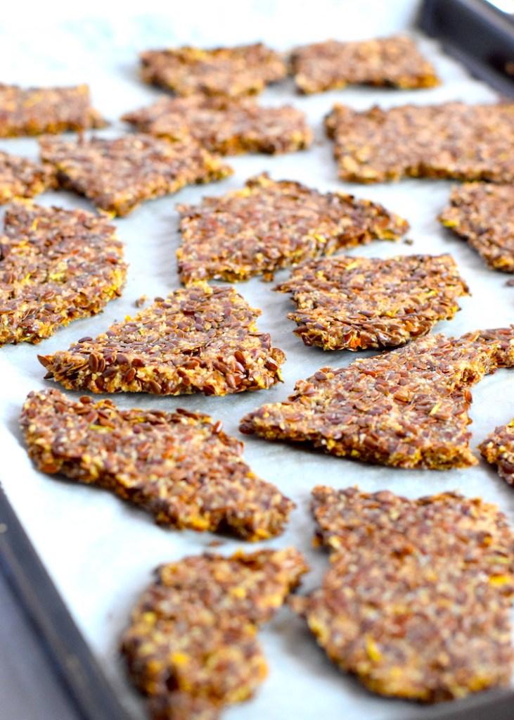 keto flax crackers recipe