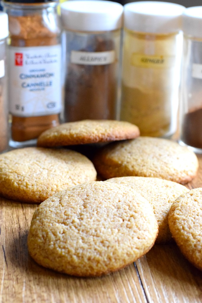 keto soft and chewy ginger cookies