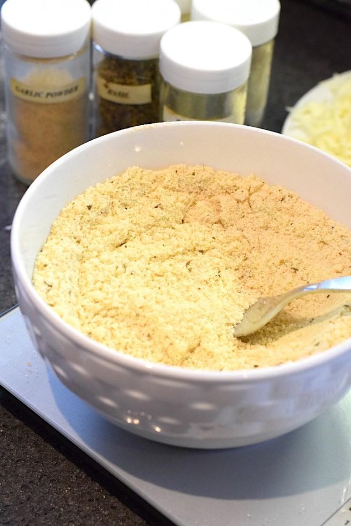 almond flour vital wheat gluten yeast