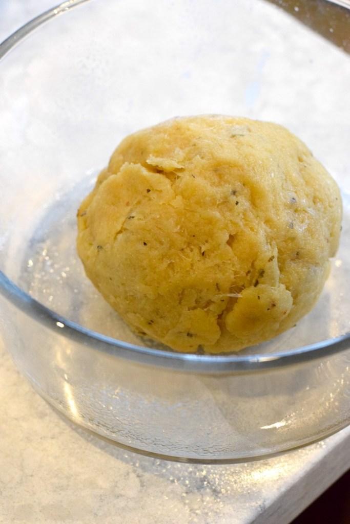 vital wheat gluten keto bread dough