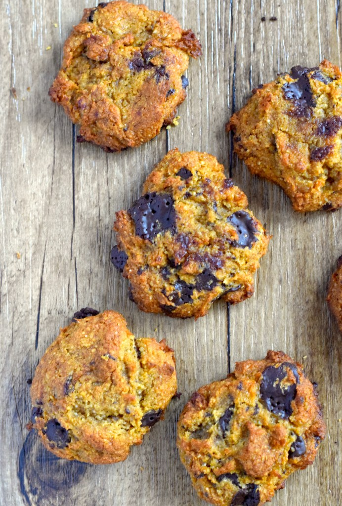 keto pumpkin chocolate cookies recipe