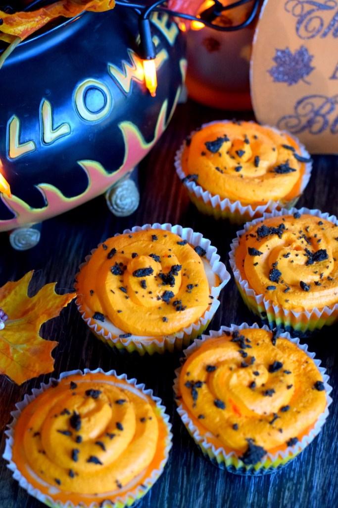 keto mini candy corn cheesecakes