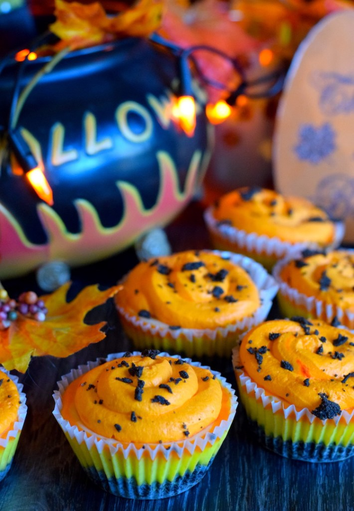 low carb halloween cheesecakes