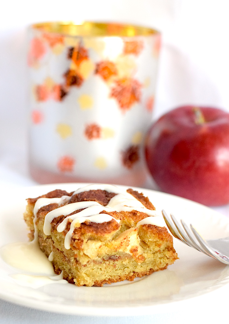 keto apple pie cake