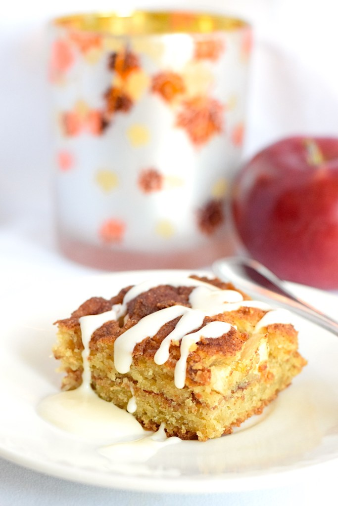 keto coconut flour apple cake
