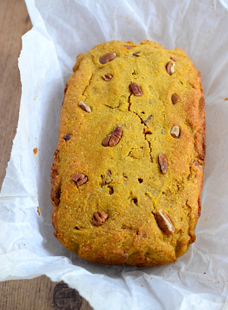 low carb keto pumpkin bread recipe