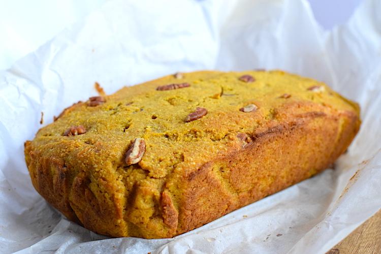 sugar free low carb pumpkin bread