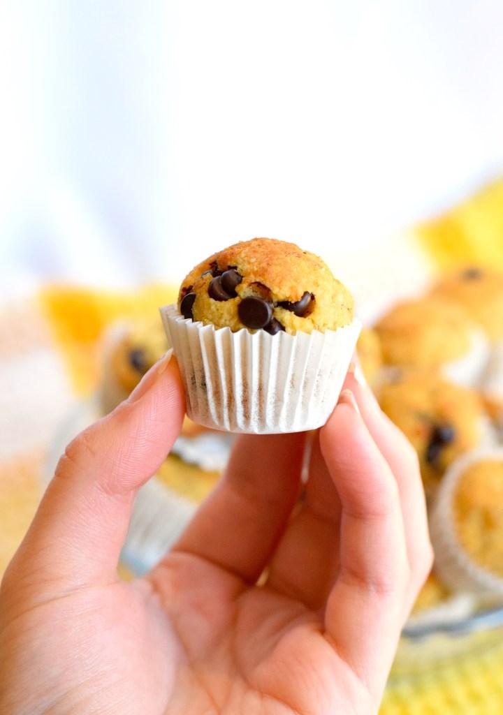 keto banana mini muffins recipe