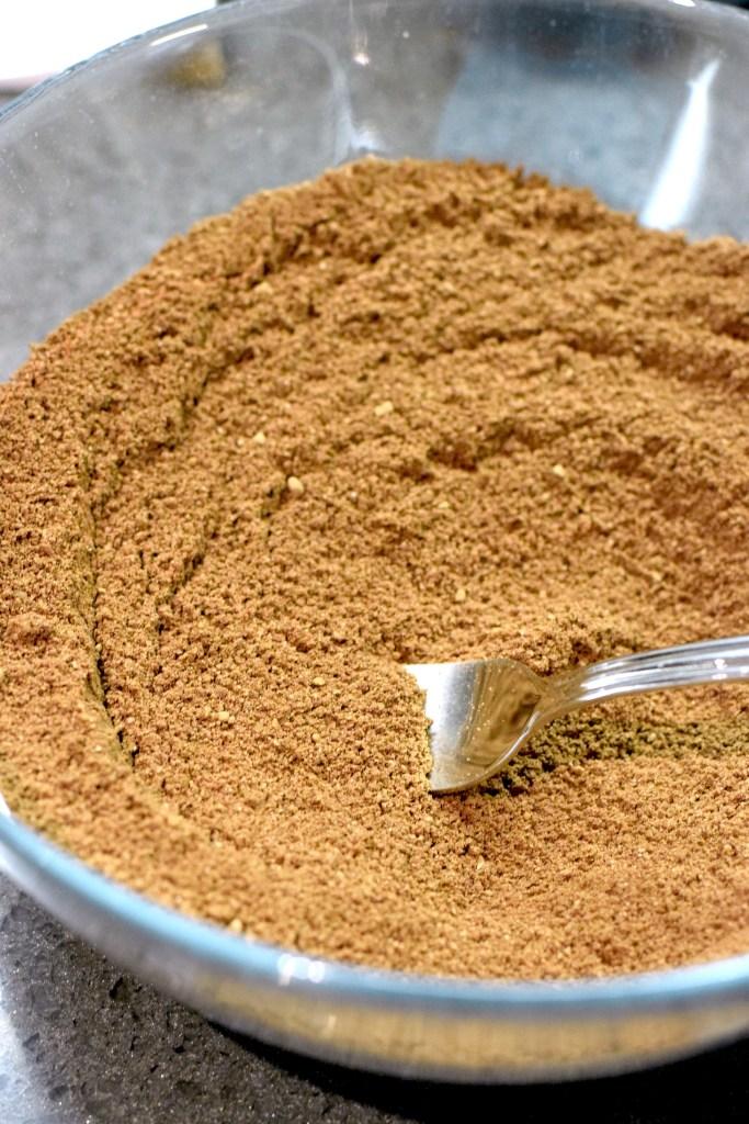 almond flour, cocoa powder, xanthan gum, arrowroot starch