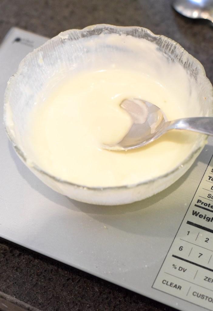 keto cream cheese glaze