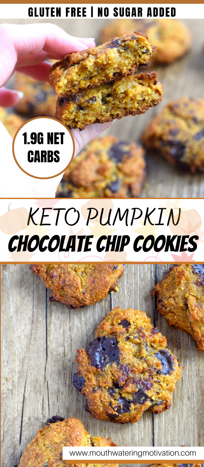 keto pumpkin chocolate chip cookies recipe