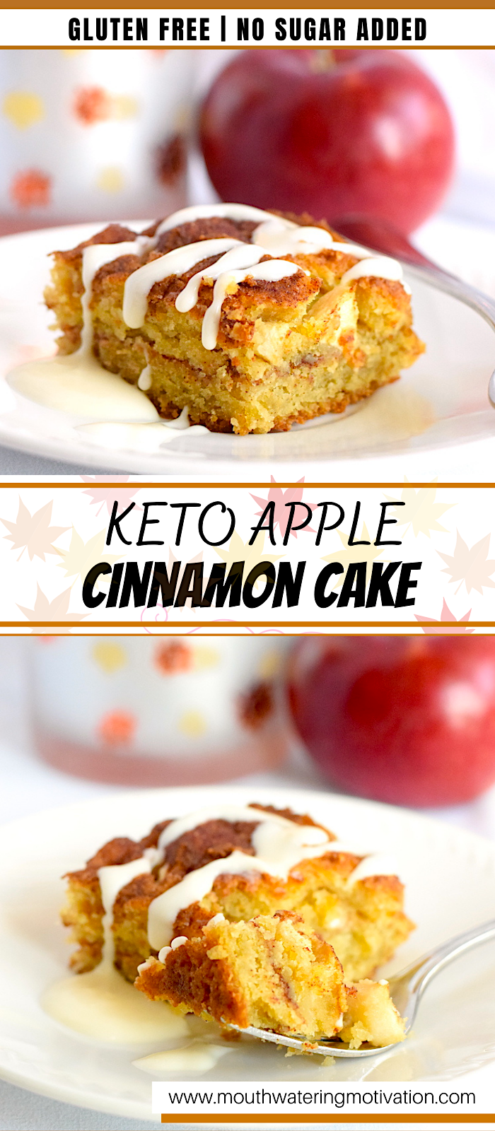 keto apple cinnamon cake recipe
