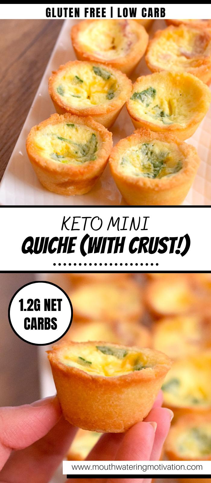 keto mini quiche with crust recipe