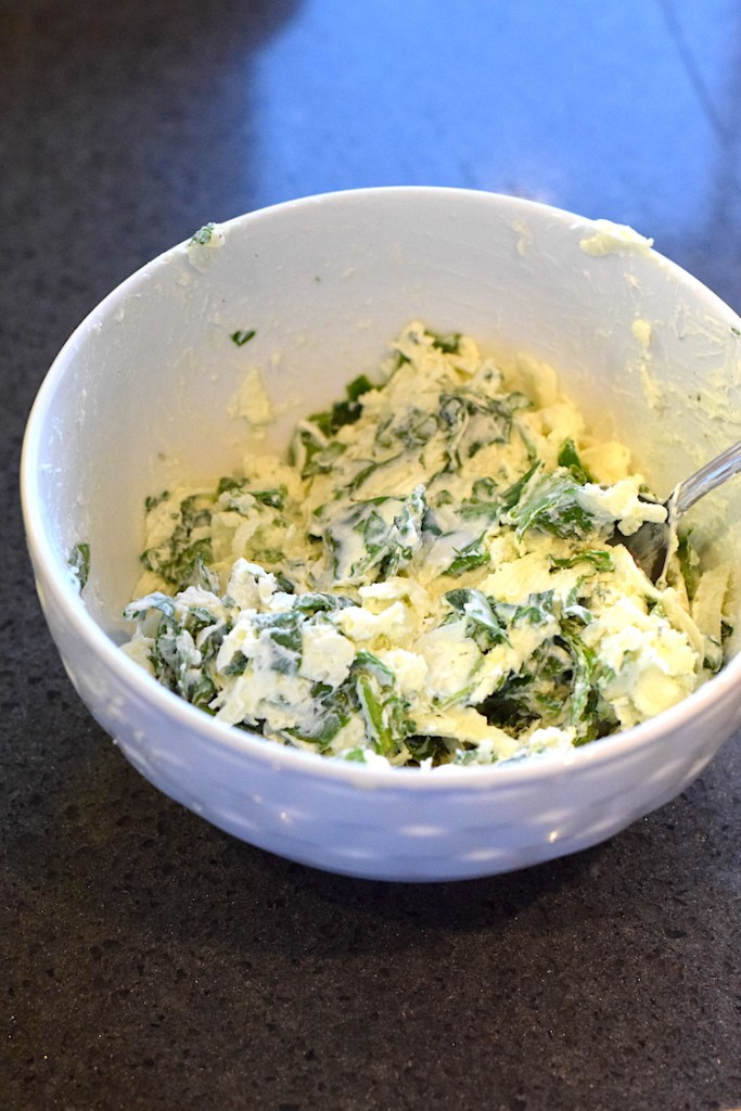 spinach cheese filling